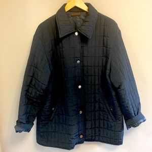 2 for $120 | Made in Italy | Quilted jacket | Blue